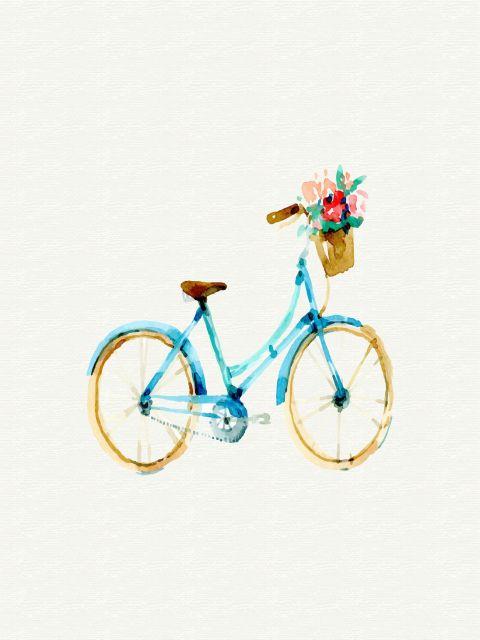 Poster Bike Vintage