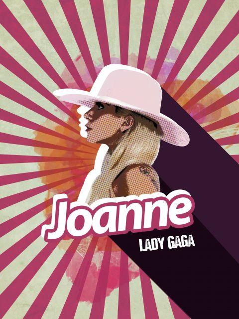 Poster Lady Gaga - Joanne