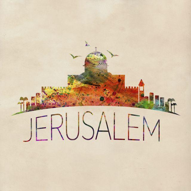 Poster Jerusalem