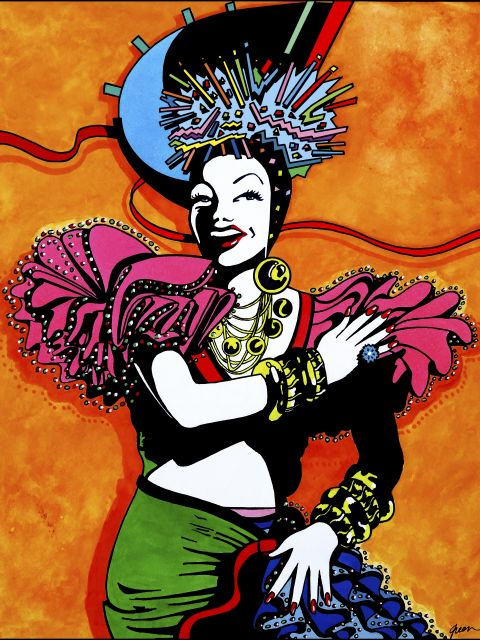 Poster Carmen Miranda Feelings