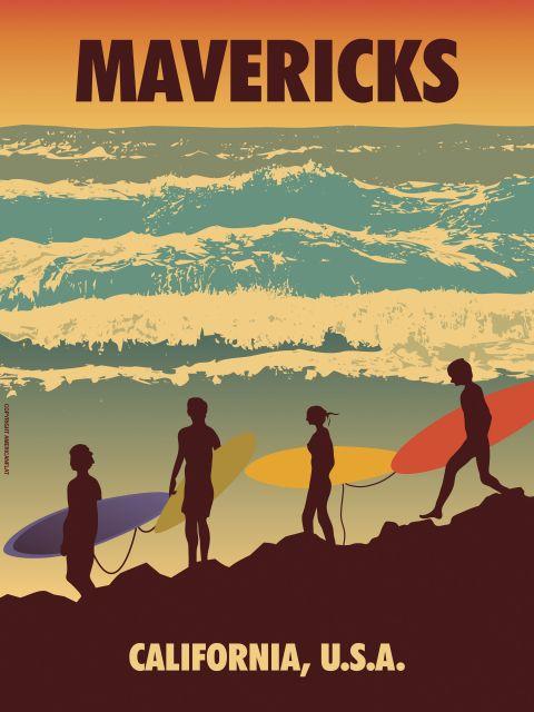 Poster Mavericks