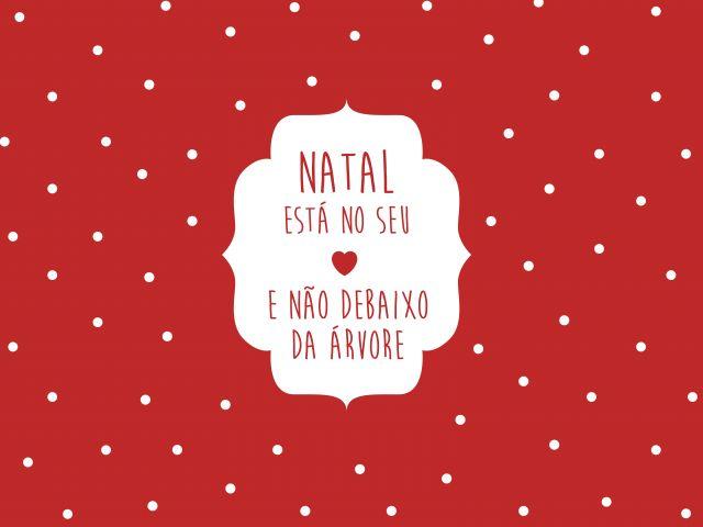 Poster Natal no Coração
