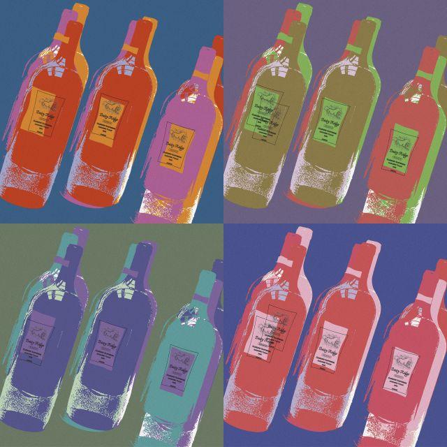 Poster Wine Bottles (giclee)