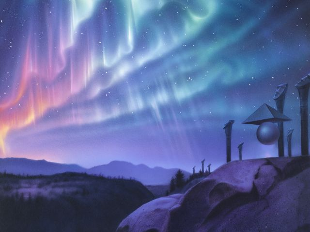 Poster Observadores do céu