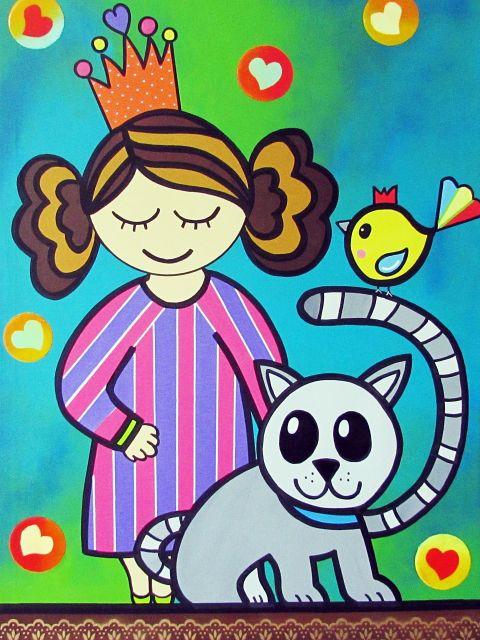 Poster A menina do pijama listrado