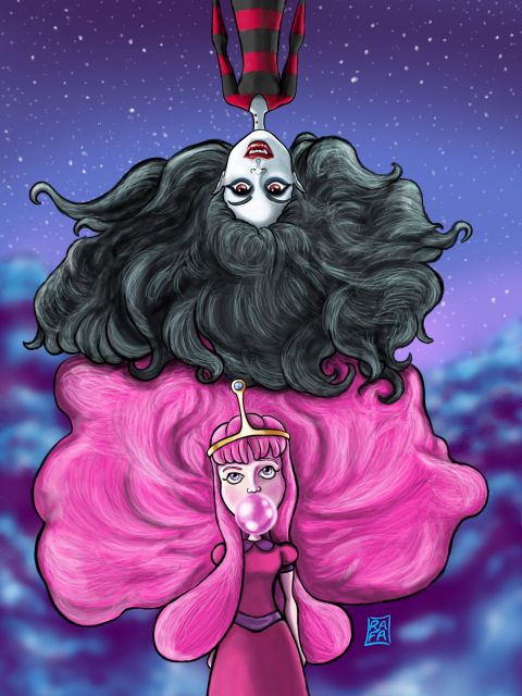 Poster Marceline e Jujuba