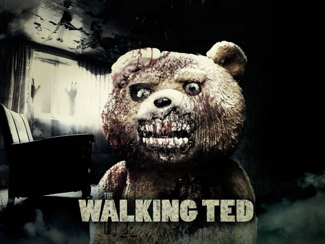 Poster The Walking Ted