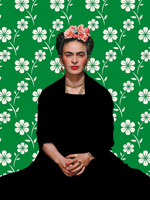 Poster Frida Kahlo Ilustração V