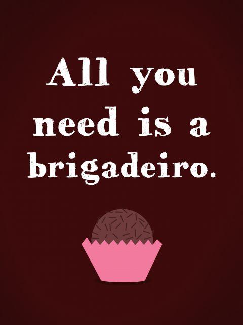 Poster Brigadeiro