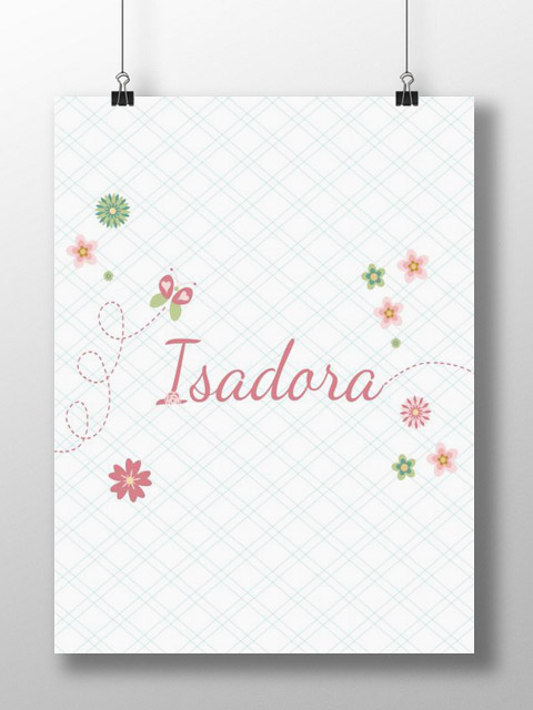 Poster Isadora