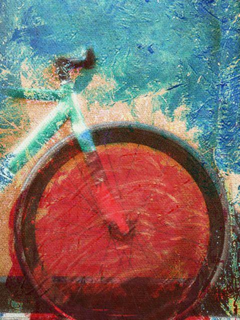 Poster Canvas Bike   bicicleta