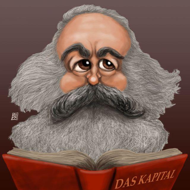 Poster Karl Marx