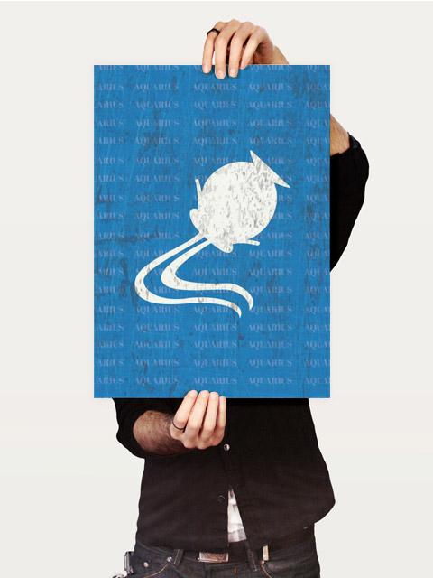Poster Aquário