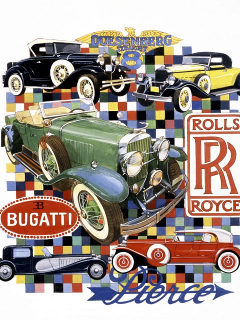 Poster Rolls Royce