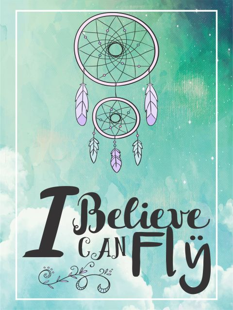 Poster I Believe I Can Fly