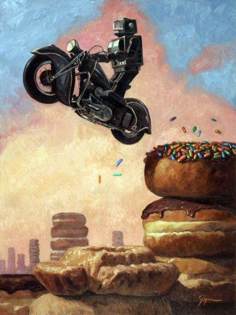 Poster Dark Rider Again