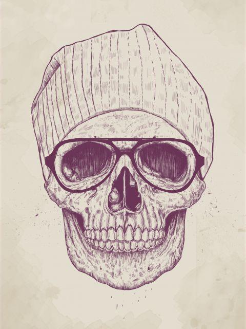 Poster Cool Skull