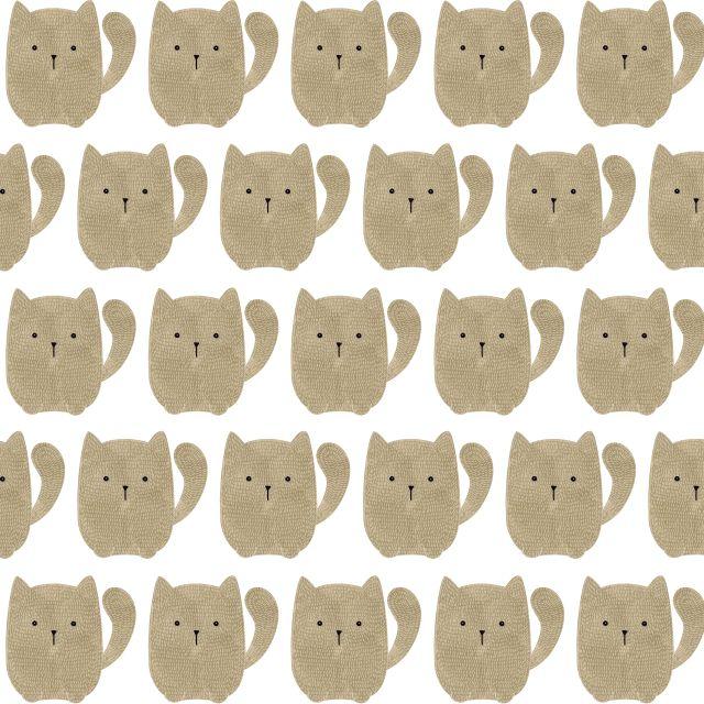 Poster Padrão de gatos