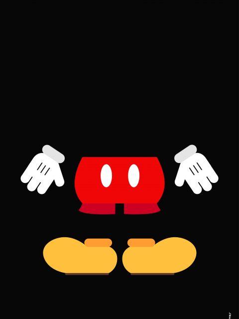 Poster Mickey Minimalista