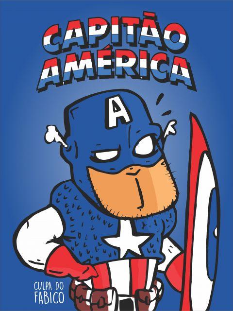Poster Capitão América   captain
