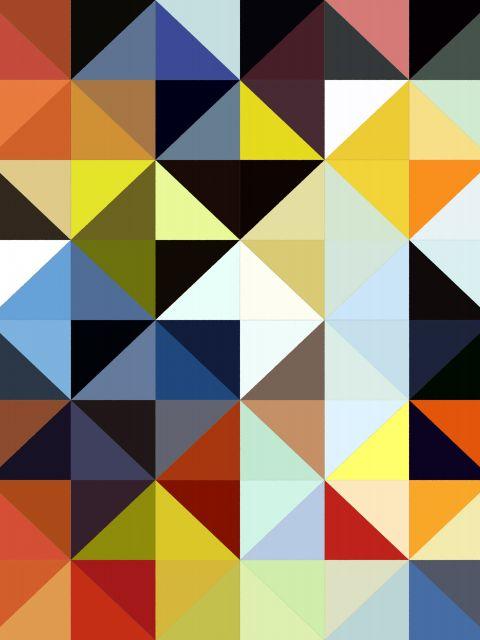 Poster Abstrato e Colorido I