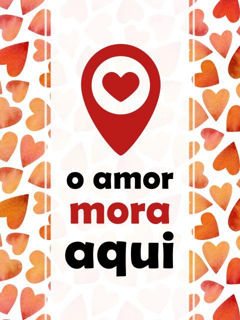 Poster O amor mora aqui