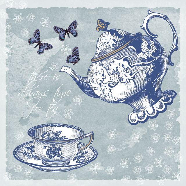 Poster Jogo de chá