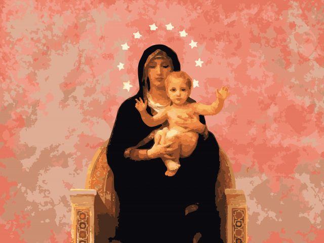 Poster Santa Maria Auxiliadora