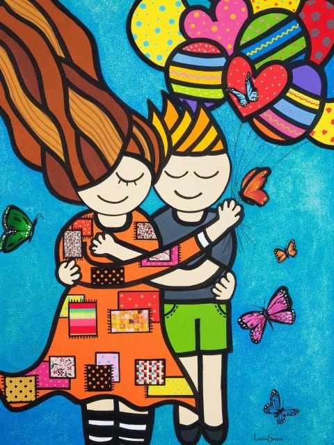Poster O amor está no ar