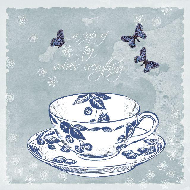 Poster Xícara de chá