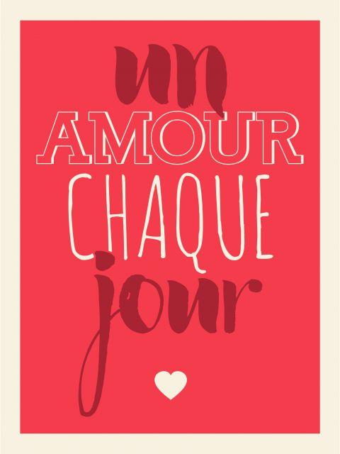 Poster Un amour chaque jour