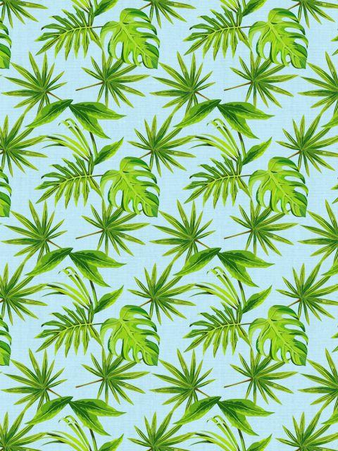 Poster Folhas tropicais III