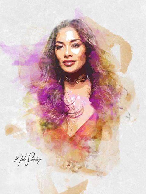 Poster Nicole Scherzinger