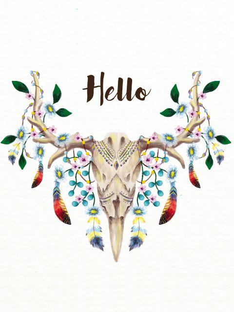 Poster Hello