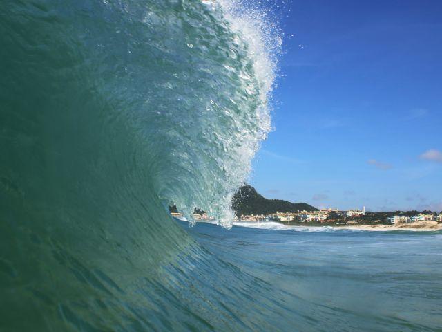 Poster Praia do Santinho