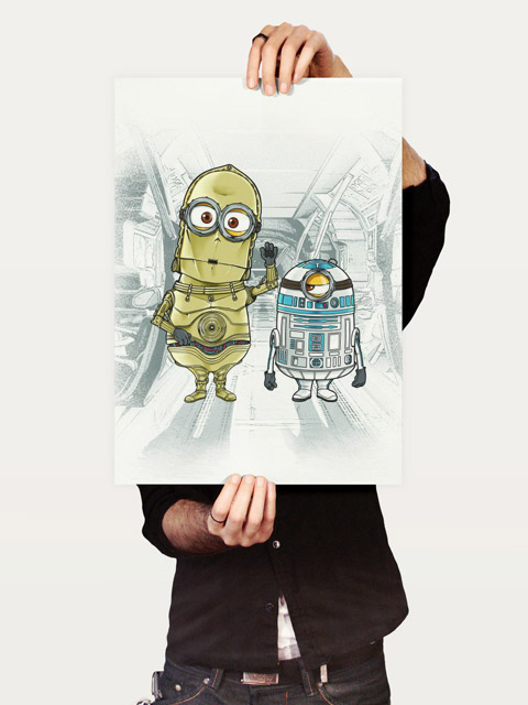 Poster M3PO and M2D2