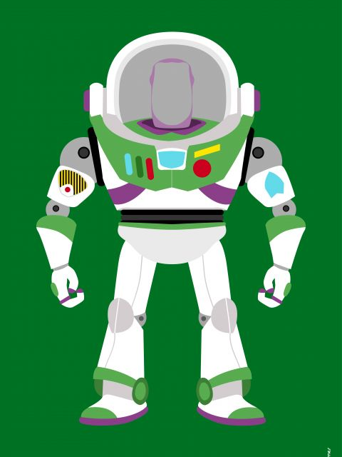 Poster Buzz Lightyear Toy Story