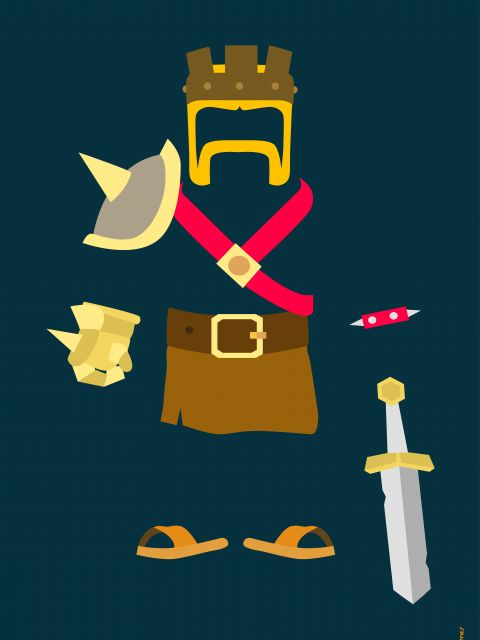 Poster Clash of Clans  jogos