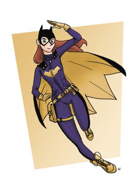 Poster Batgirl   batmoça