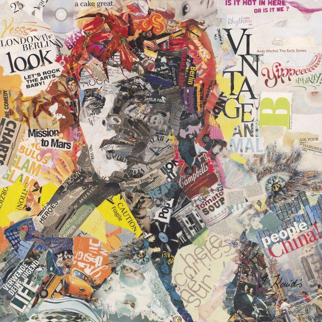 Poster David Bowie Recortes