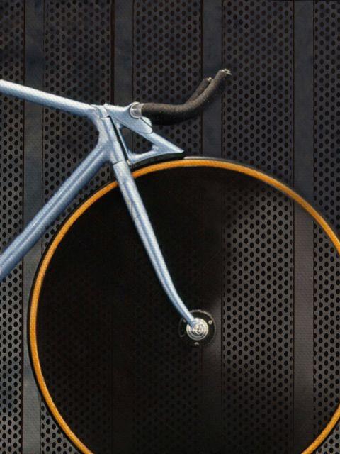 Poster Carbon Bike   bicicleta
