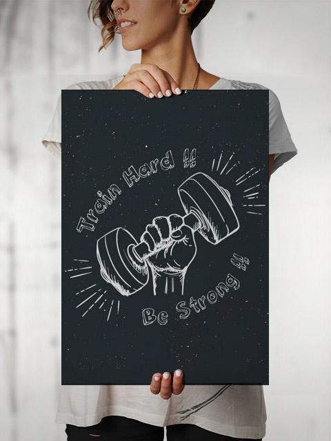Poster Treino