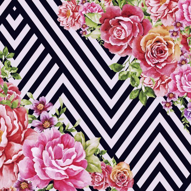 Poster Flower Geometric