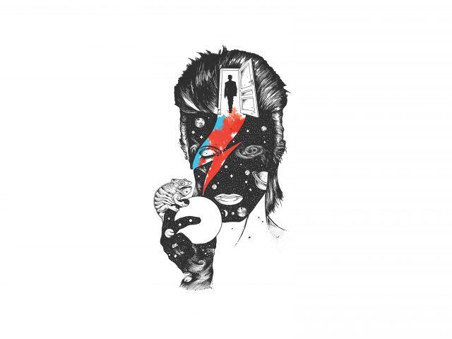 Poster David Bowie in The Last Door   Lenda da Música
