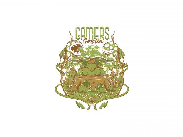 Poster Gamers garden