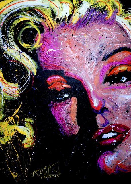 Poster Marilyn Joker 001