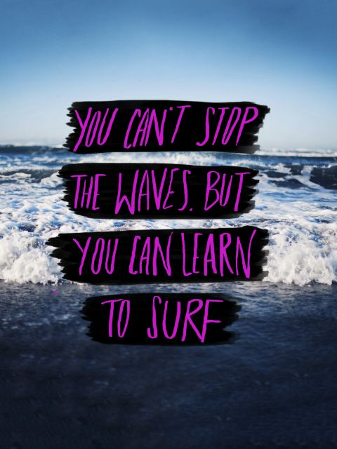 Poster Learn to Surf