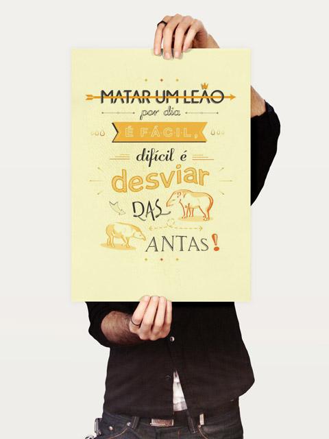 Poster As Antas de Cada Dia