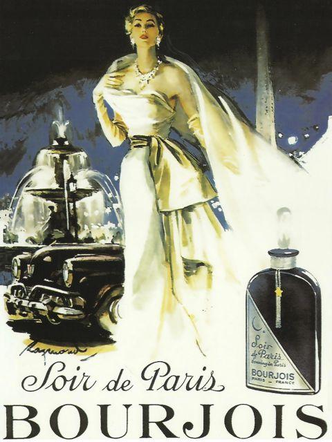 Poster Soir de Paris