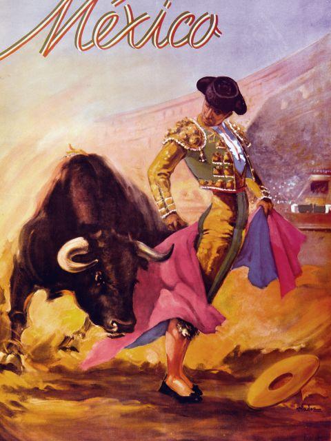 Poster Turismo Mexico I